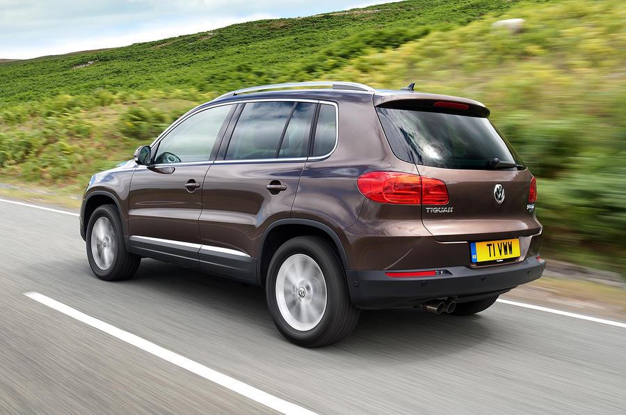 Volkswagen Tiguan rear quarter