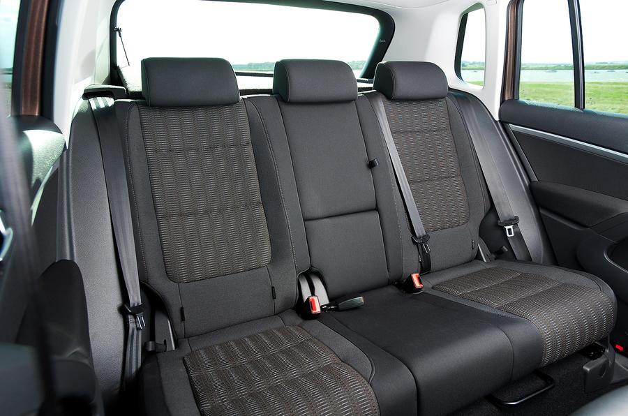Volkswagen Tiguan rear seats