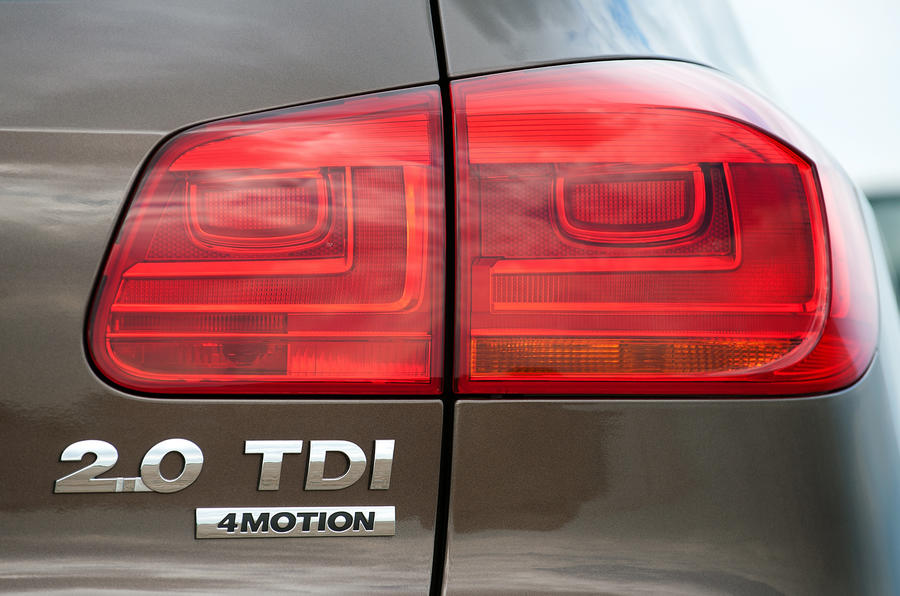 Volkswagen Tiguan rear light