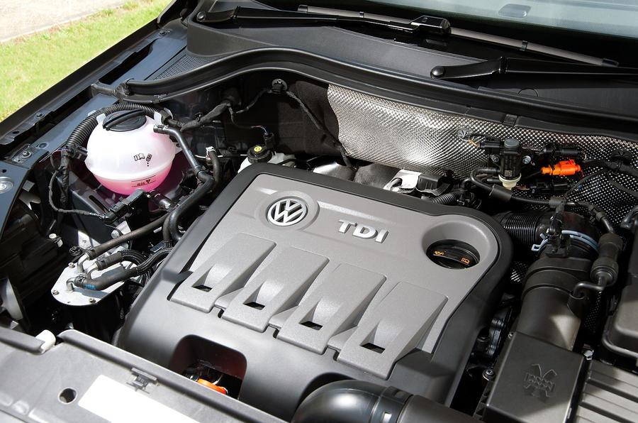 2.0-litre TDI Volkswagen Tiguan engine