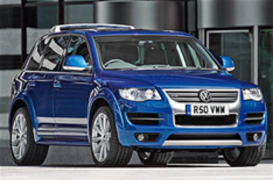 VW Touareg R50 reaches Britain
