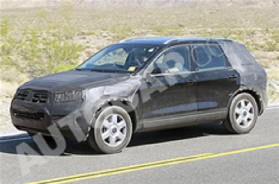 New VW Touareg snapped