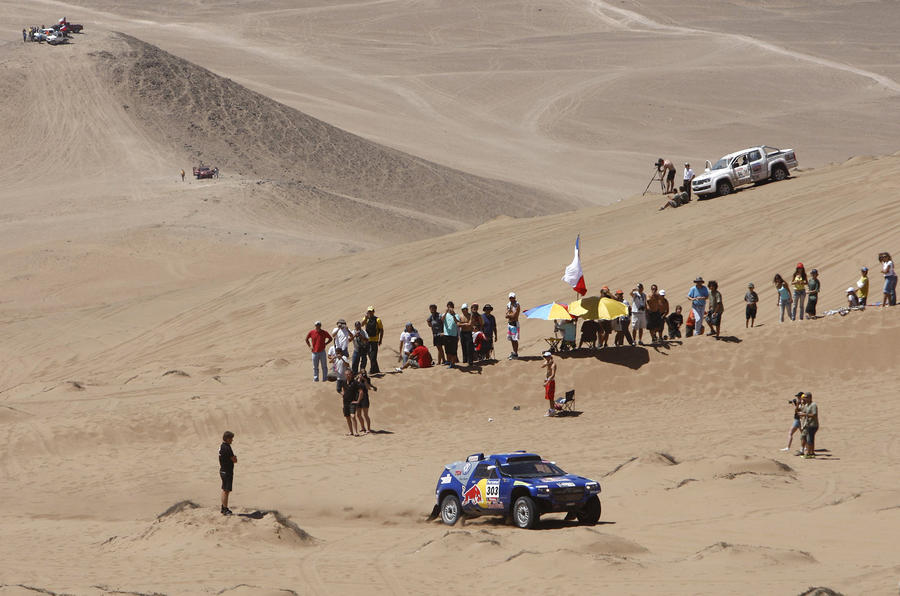 Sainz wins Dakar Rally