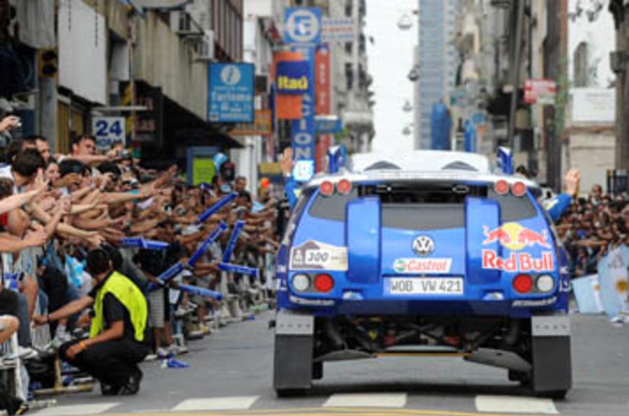 Dakar starts - in Argentina