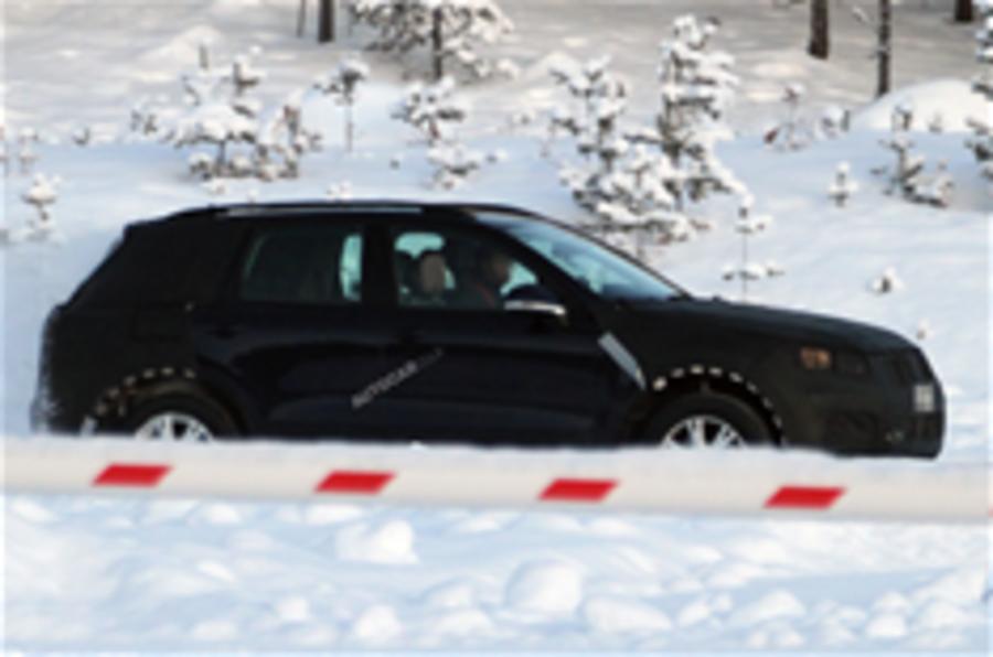 Next VW Touareg snapped