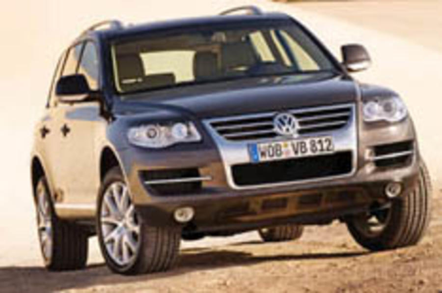 VW tweaks the Touareg