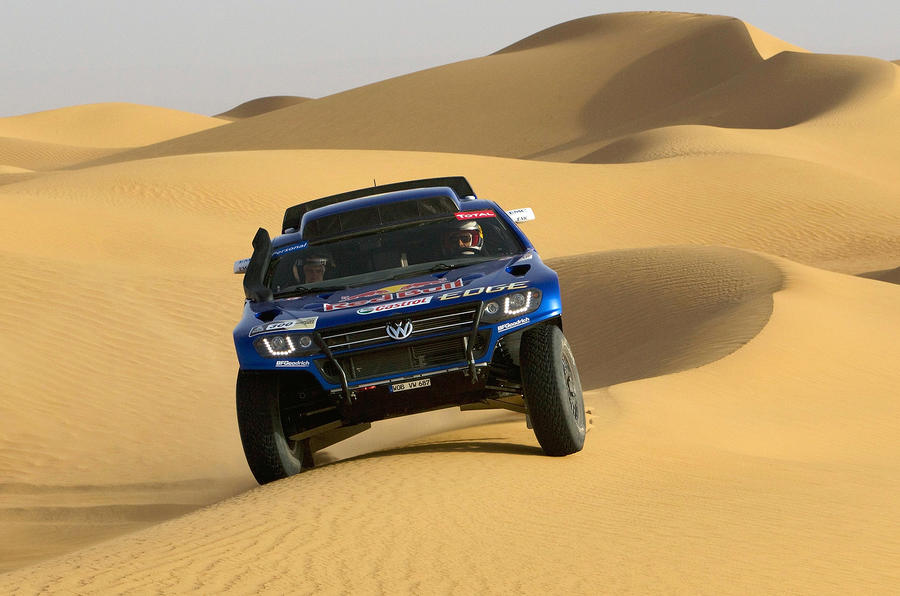 VW's new Touareg racer launched