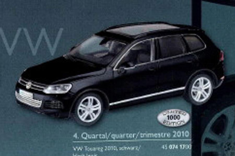 New VW Touareg 'leaked'