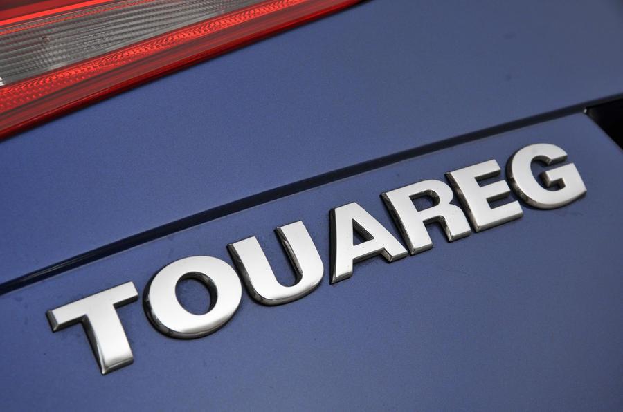 Volkswagen Touareg badging
