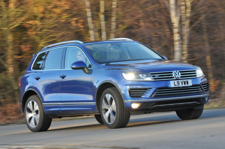Volkswagen Touareg cornering