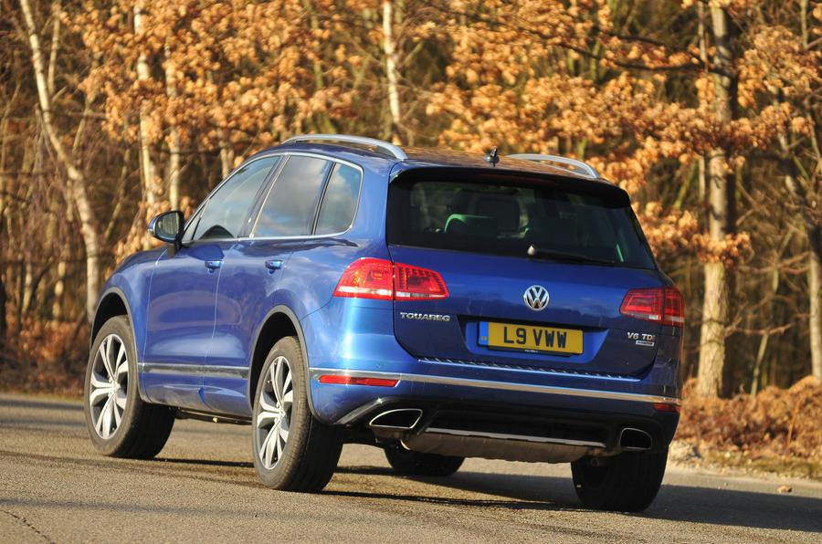Volkswagen Touareg rear