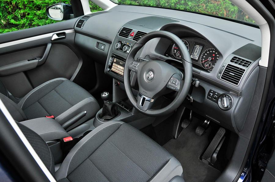 Volkswagen Touran 2010-2015 interior | Autocar