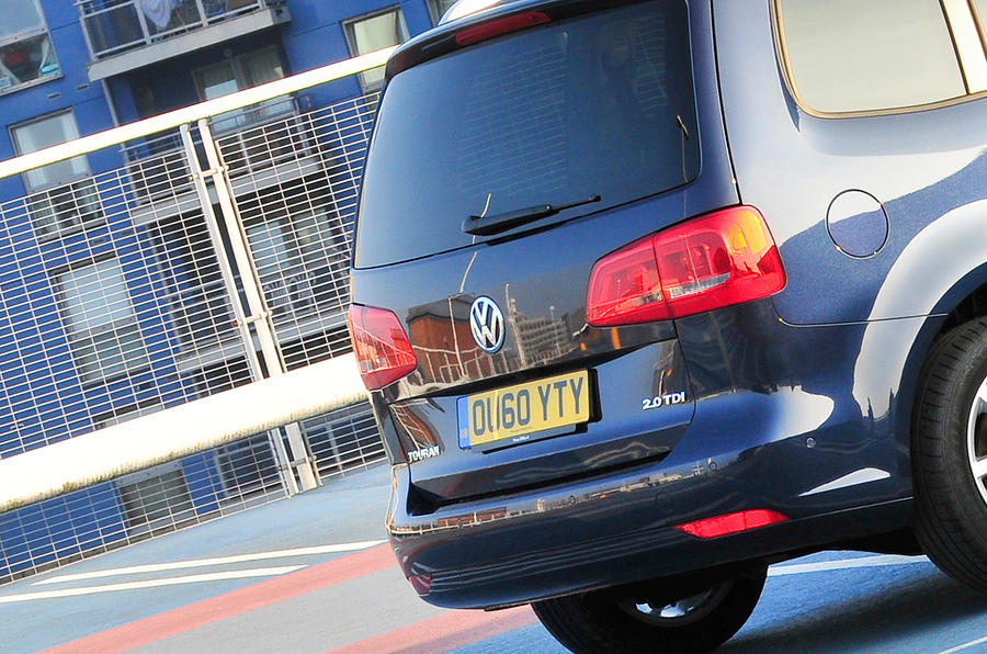 Volkswagen Touran rear end