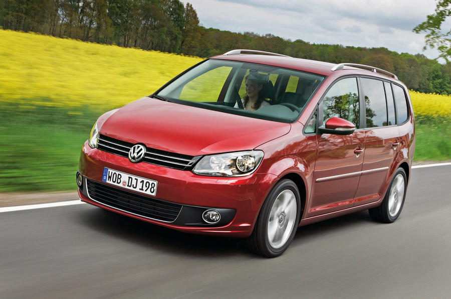 New VW Touran from £17,585