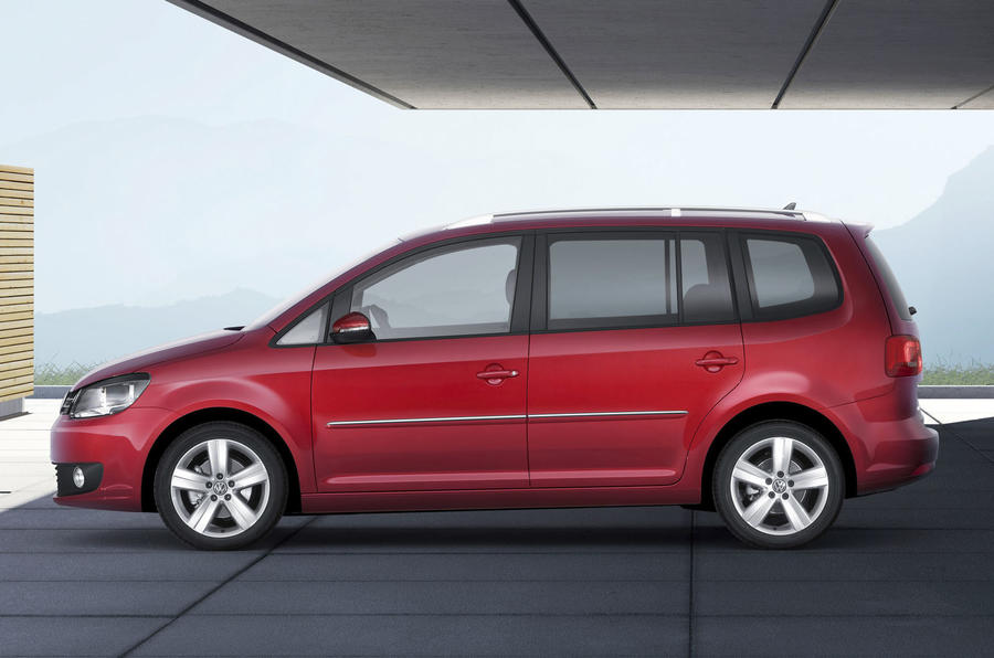 New VW Touran revealed