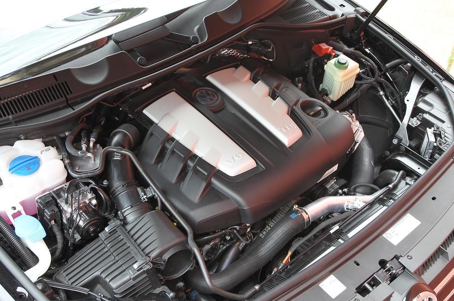 3.0-litre V6 TDI VW Touareg engine