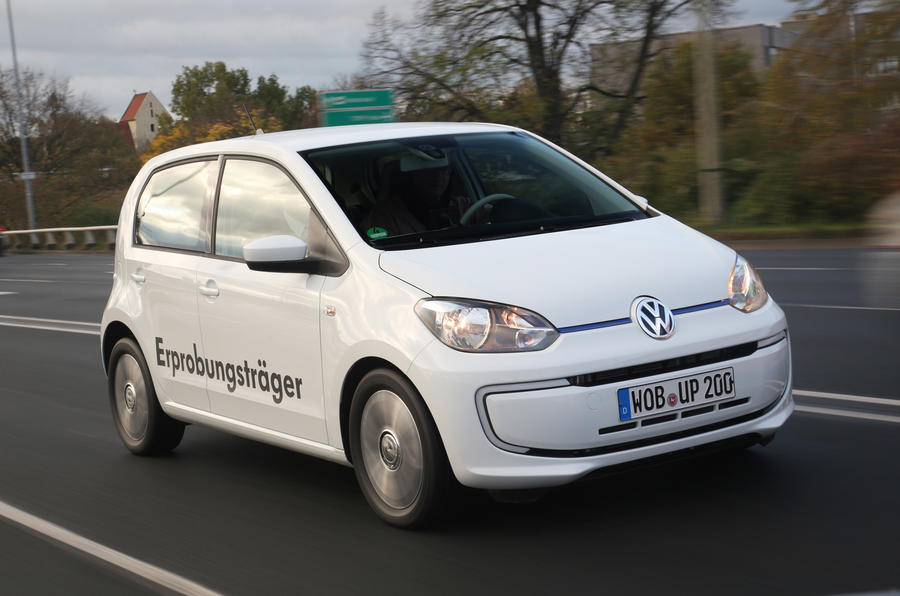 Volkswagen Twin-Up diesel-electric revealed