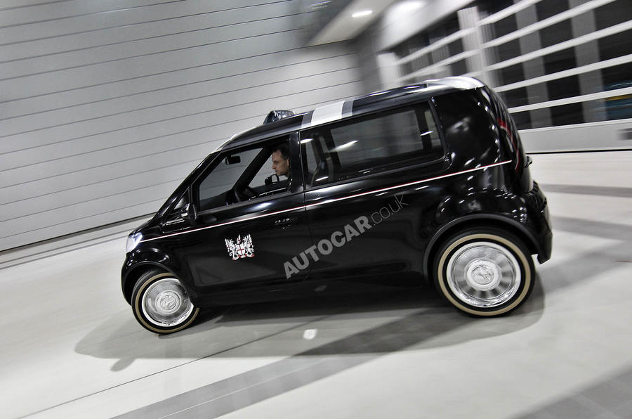 VW's London taxi 'to go global'