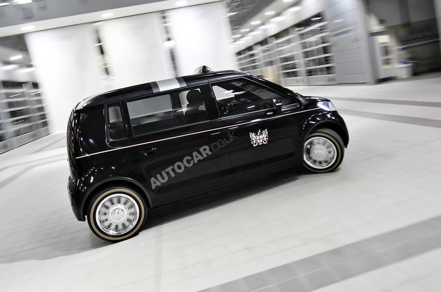VW unveils its London taxi