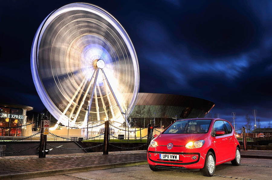 4 star Volkswagen Up
