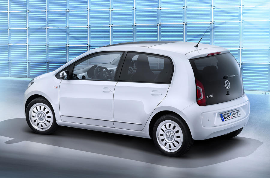 VW Up five-door unveiled