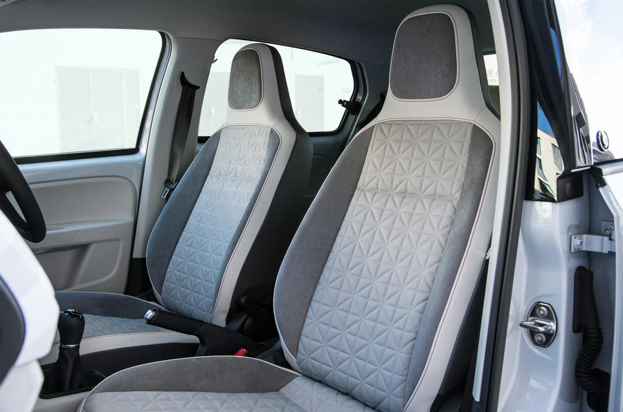 Volkswagen Up front seats