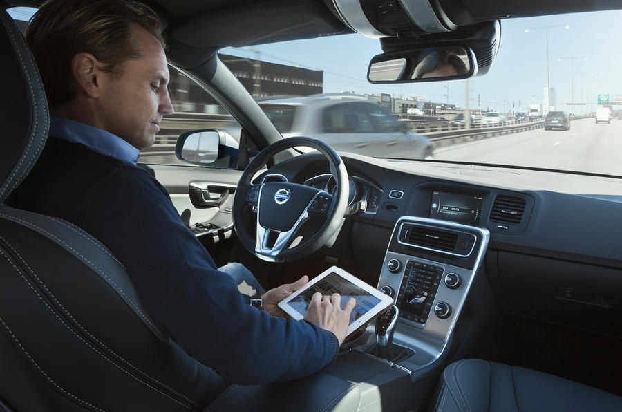 A ride in a self-driving Volvo