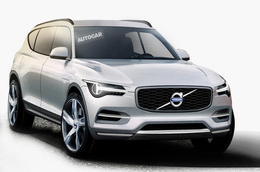 All New Volvo Xc90 For Paris Motor Show Debut Latest Spy