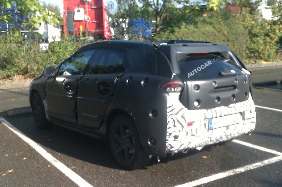 VW Golf-rivalling Volvo V30 spied