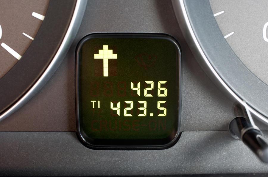 Volvo C30 information display