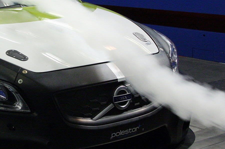 Volvo C30 racer unveiled
