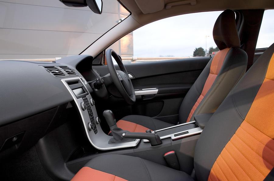 Volvo C30 front seats
