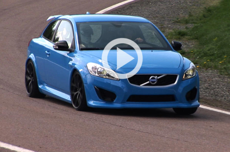 Volvo's Focus RS beater on video