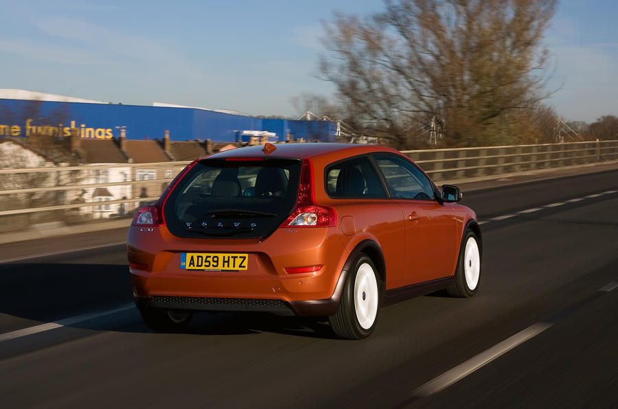 Volvo C30 rear quarter