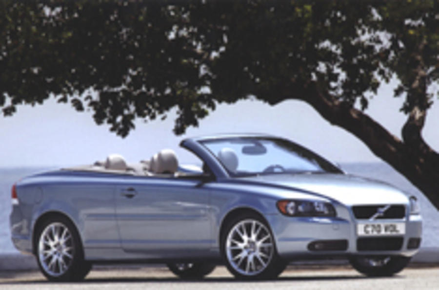 Volvo C70 guns for BMW and Audi