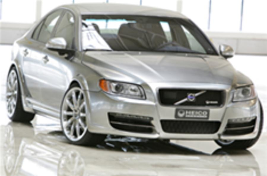 Volvo uncovers S80 super saloon