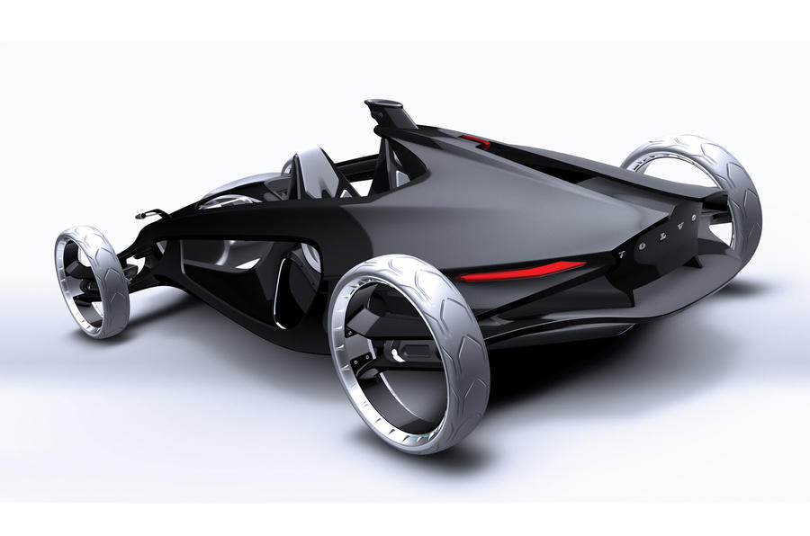 The 450kg cars of the future