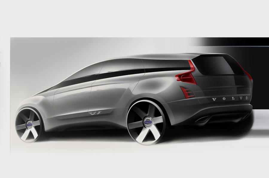Next-gen Volvo XC90 previewed