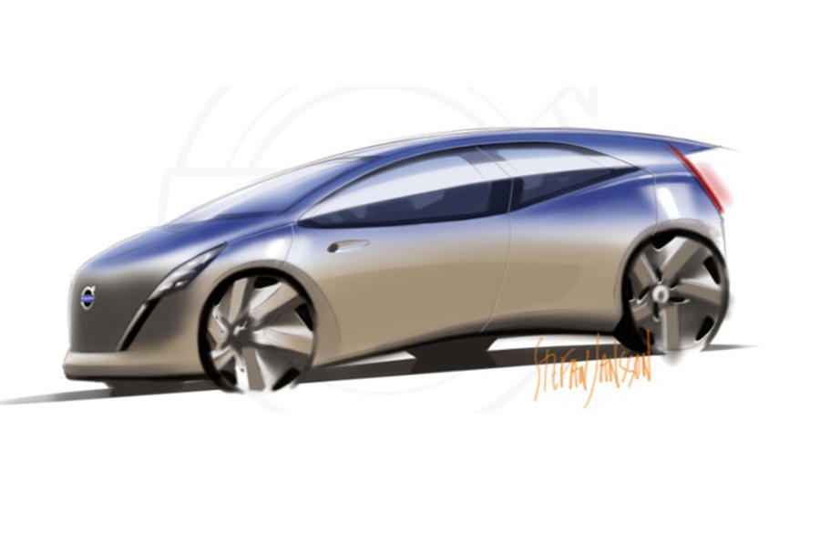 Electric Volvo concept teased