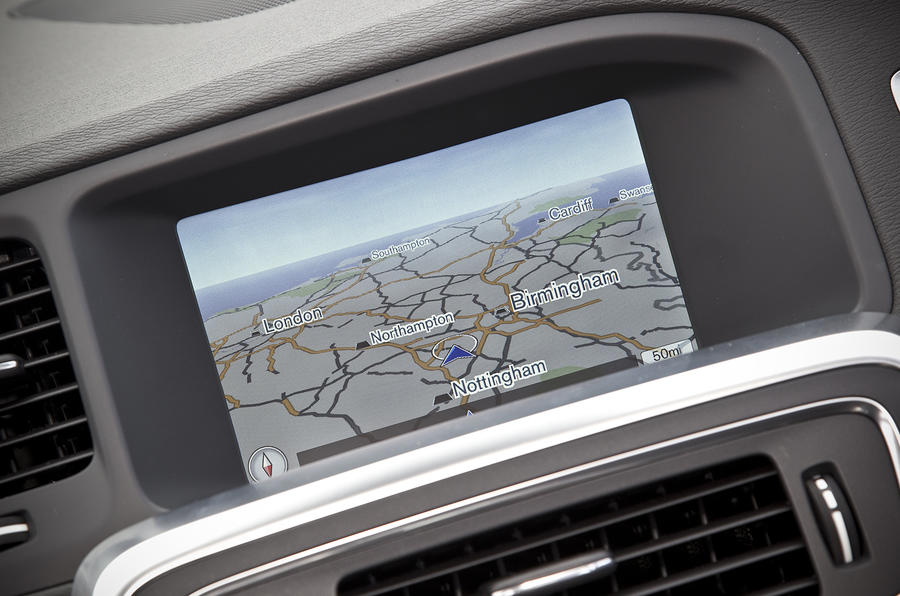 Volvo S60 infotainment system