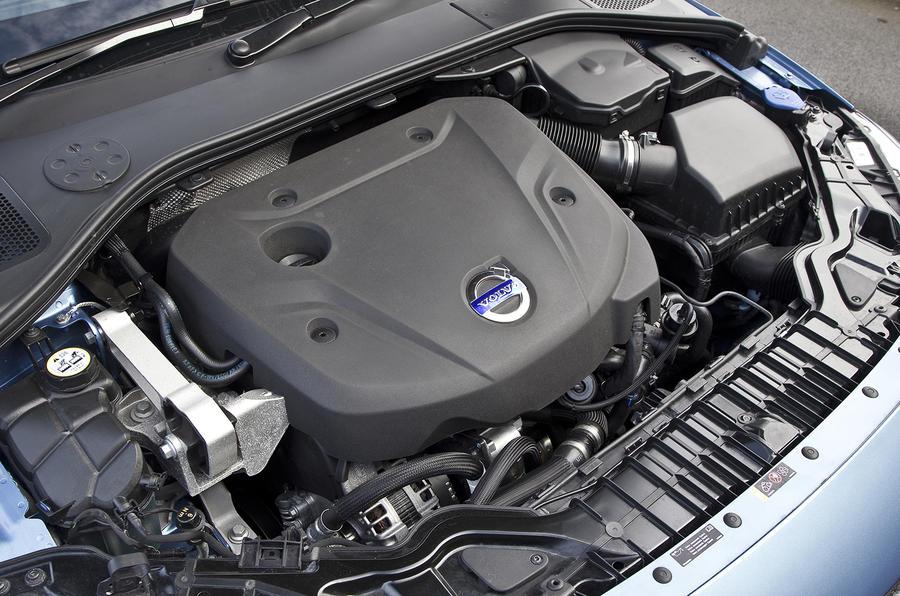 Volvo S60 D4 diesel engine