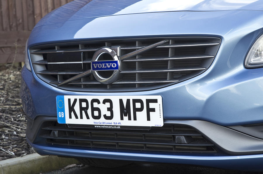 Volvo S60 front grille