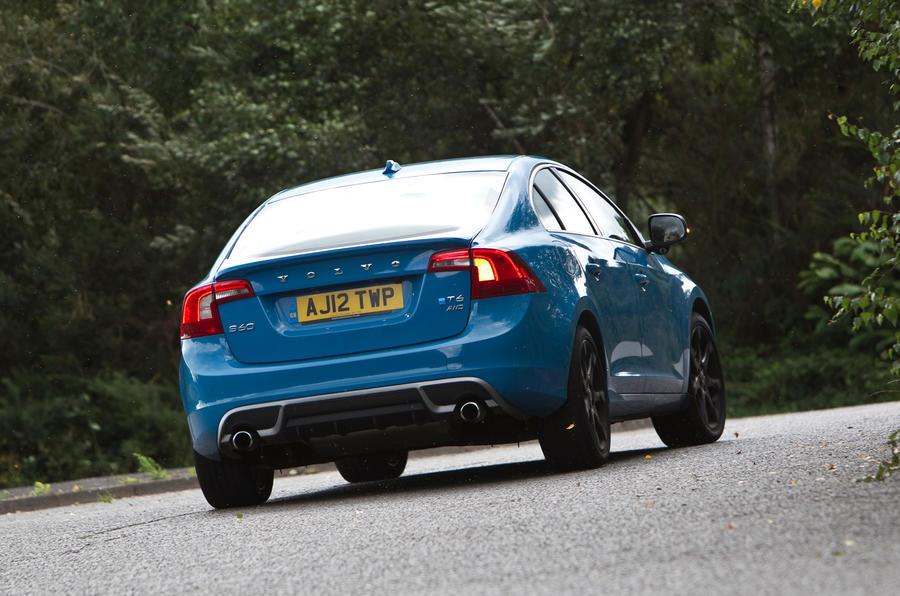 Volvo V60 Polestar rear