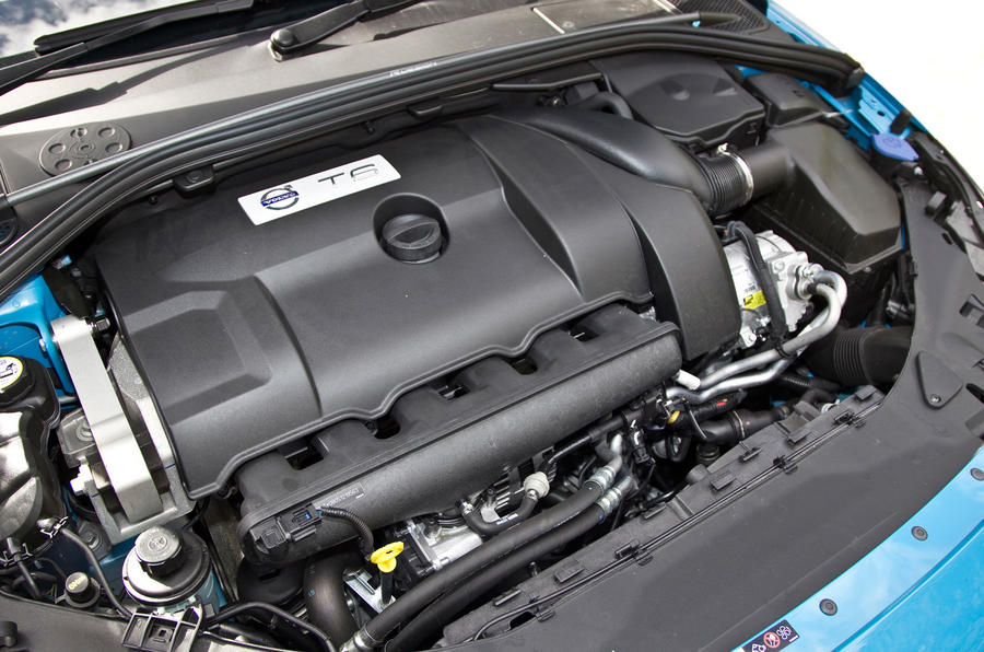 3.0-litre Volvo V60 Polestar petrol engine
