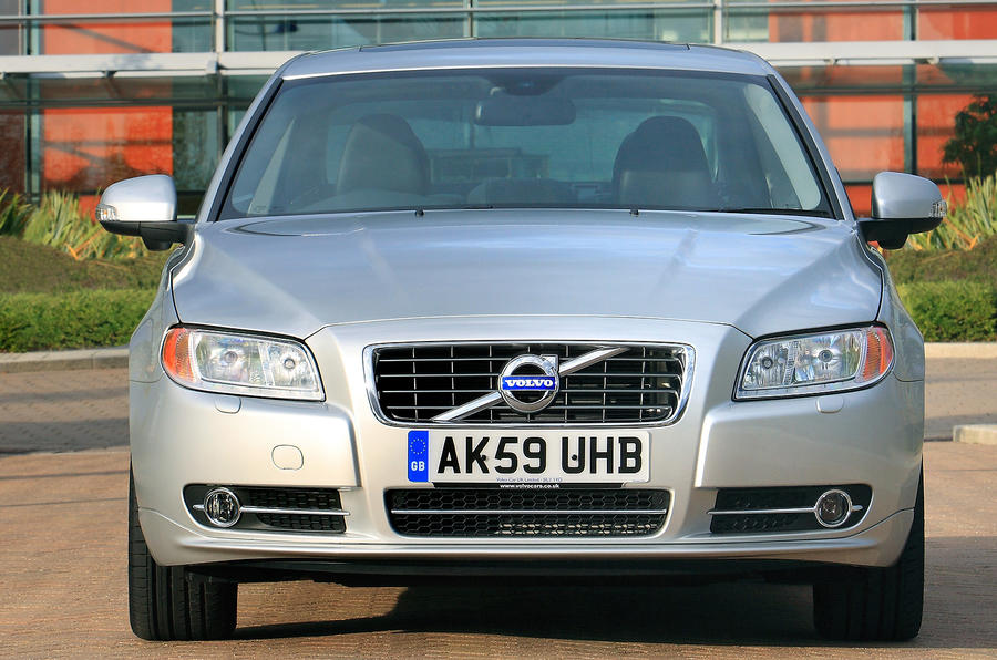 Volvo S80 front grille