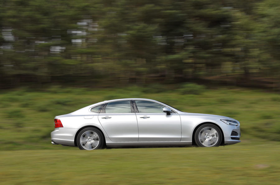 Volvo S90 side profile