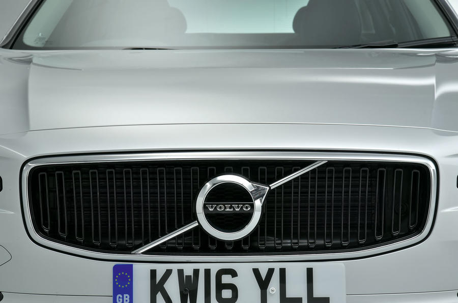 Volvo S90 front grille
