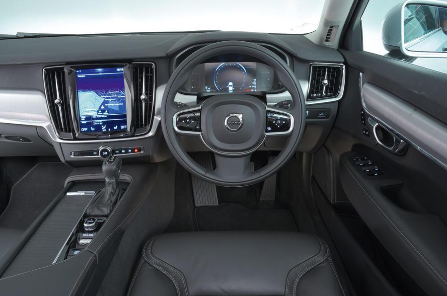 Volvo S90 performance   Autocar