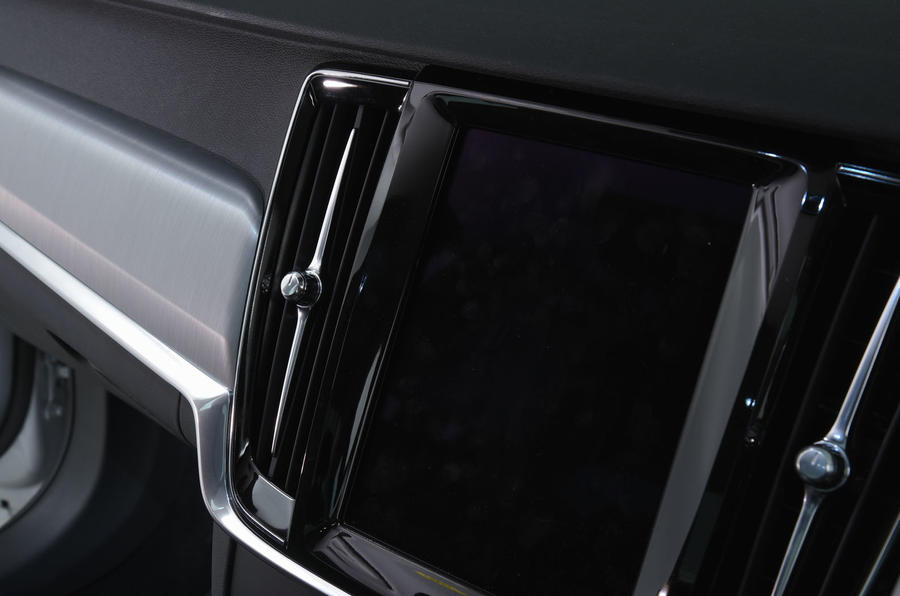 Volvo S90 air vents