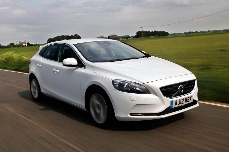 volvo v40 d4 se nav review autocar. Black Bedroom Furniture Sets. Home Design Ideas
